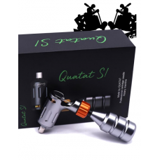 QUATAT S1 SILVER rotary tattoo machine