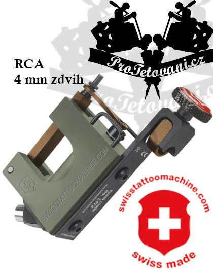 Rotační tetovací strojek SWISSTATTOOMACHINE B2 Spirit RCA