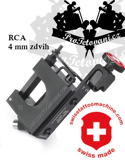 Rotační tetovací strojek SWISSTATTOOMACHINE BlackLine RCA