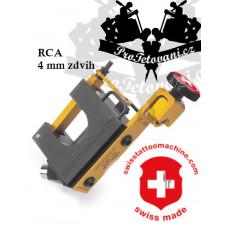 SWISSTATTOOMACHINE GoldLine RCA rotary tattoo machine