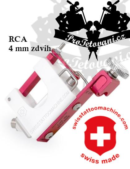 Rotační tetovací strojek SWISSTATTOOMACHINE PinkyHeidi RCA