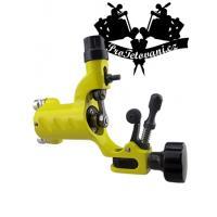 Yellow Fly rotary tattoo machine and tattoo grip