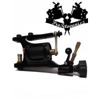 AK-47 rotary tattoo machine and tattoo grip