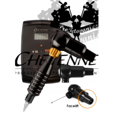 CHEYENNE HAWK THUNDER BLACK rotary tattoo set