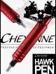 Rotační tetovací strojek CHEYENNE HAWK PEN RED