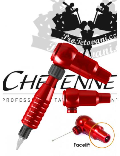 Rotační tetovací strojek CHEYENNE THUNDER RED A GRIP