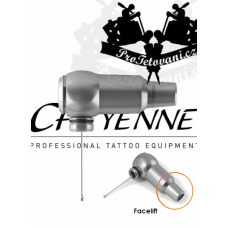 CHEYENNE THUNDER SILVER Rotary Tattoo Machine WITHOUT GRIP