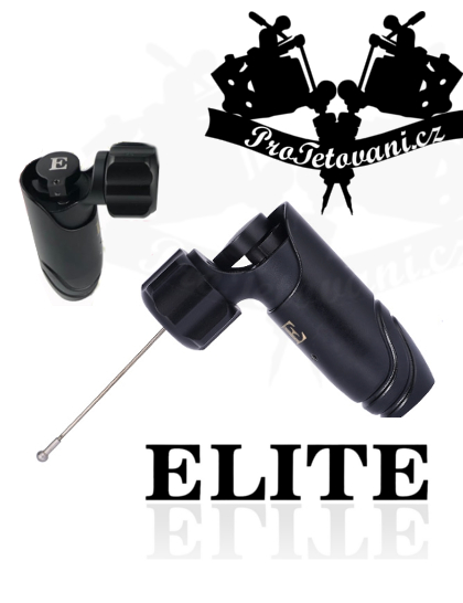Rotační tetovací strojek ELITE RUSH BLACK