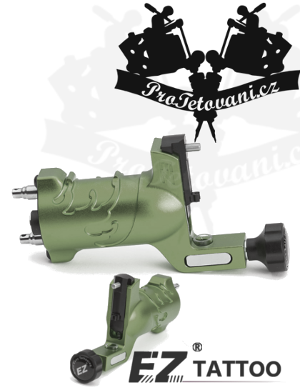 Rotační tetovací strojek EZ WAVE ARMY GREEN