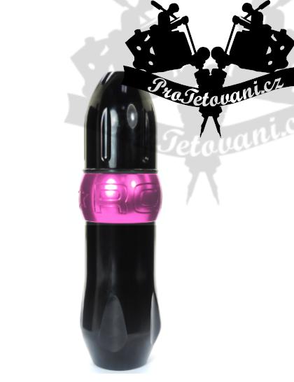 Rotační tetovací strojek PEN Rocket Pink