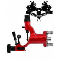Rotary tattoo machine Red Fly with RCA and clip cord connector and tattoo grip