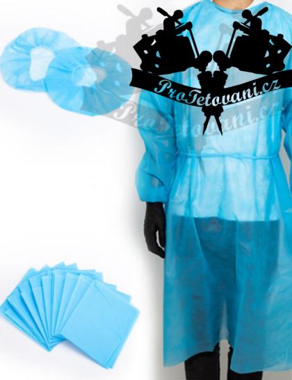 Set ochranného oděvu a podložky