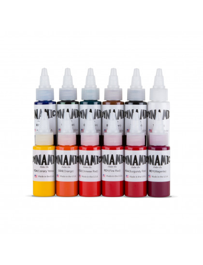 Set tetovacích barev Dynamic Ink 12 ks