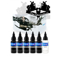 Set of tattoo inks Intenze Ink Bob Tyrrell Colors 30ml