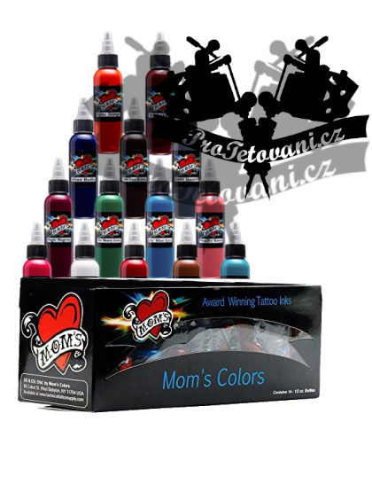 Set tetovacích barev Moms Millennium 14 barev primary 2