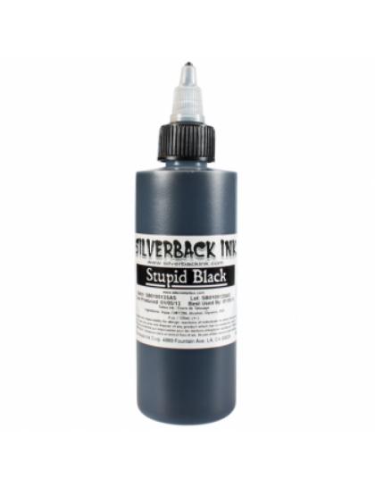 Silverback Ink Stupid Black tetovací barva 120ml