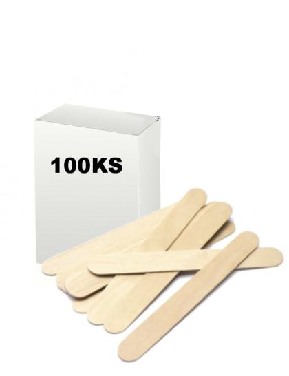 Dřevěné špachtle 100ks