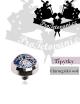 Šperk pro mikrodermalní piercing Glitter blue