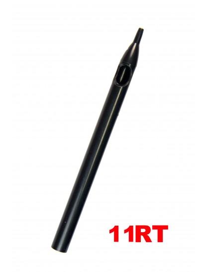 Sterilní tetovací špička dlouhá 11RT černá