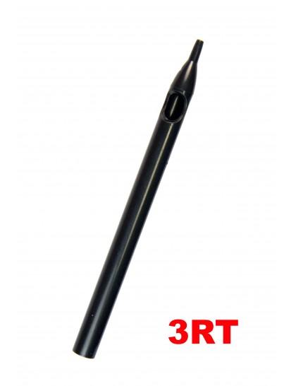 Sterilní tetovací špička dlouhá 3RT černá
