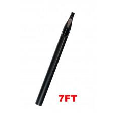 Sterile tattoo tip long 7FT black
