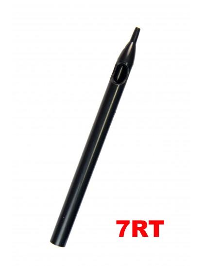 Sterilní tetovací špička dlouhá 7RT černá