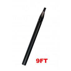 Sterile tattoo tip long 9FT black