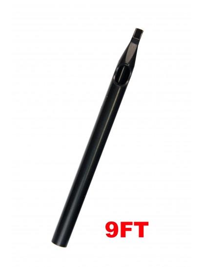 Sterilní tetovací špička dlouhá 9FT černá