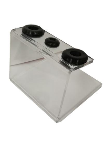 Akrylový stojánek na tři strojky
