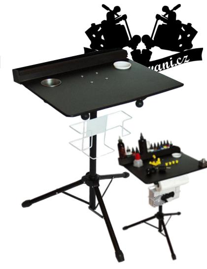 Stůl na tetovací vybavení nastavitelný Working table