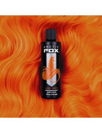 Arctic Fox Sunset Orange barva na vlasy