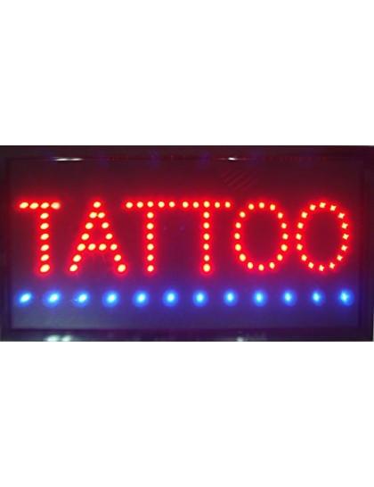 Svítící LED tabule Tattoo