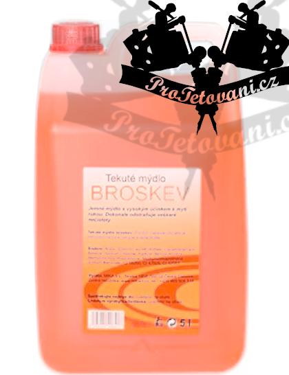 Tekuté mýdlo Mika broskev 5l