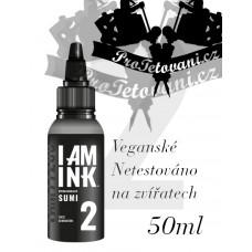 Tattoo ink I AM INK GRAY SUMI 2 50 ML