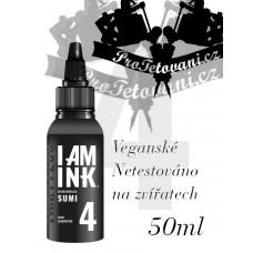 Tattoo ink I AM INK GRAY SUMI 4 50 ML