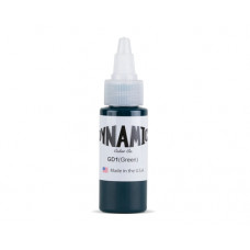 Dynamic ink Green tattoo ink 30ml