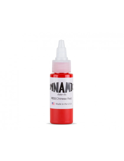 Dynamic ink Chinese Red tetovací barva 30ml