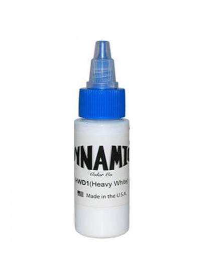 Dynamic ink Heavy White tetovací barva 30ml