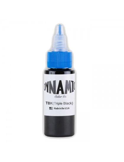 Dynamic ink Black Triple Black tetovací barva 30ml