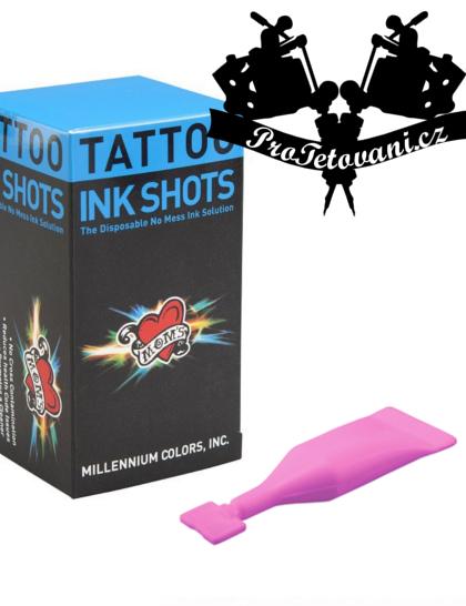 INK SHOTS 2 ML Tetovací barva Moms Millennium Rainbow Pink