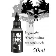 Tattoo ink I AM INK GRAY SUMI 1 50 ML