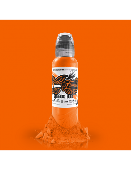 World Famous Everest Orange 30 ml tetovací barva