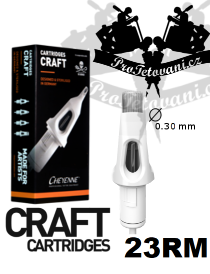 Tetovací cartridge CHEYENNE CRAFT 23 Soft Edge Magnum