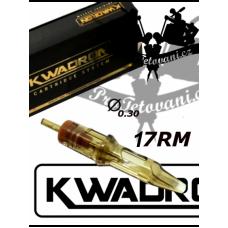 KWADRON 17 Soft Edge Magnum tattoo cartridge