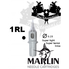 Tattoo cartridge MARLIN 1 RL SUPER TIGHT