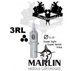 Tattoo cartridge MARLIN 3 RL SUPER TIGHT