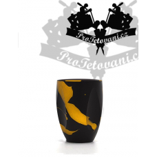 Finger Black Gold Nest tattoo grip for PEN type machines