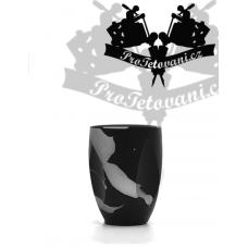 Finger Black Gray Nest tattoo grip for PEN type machines