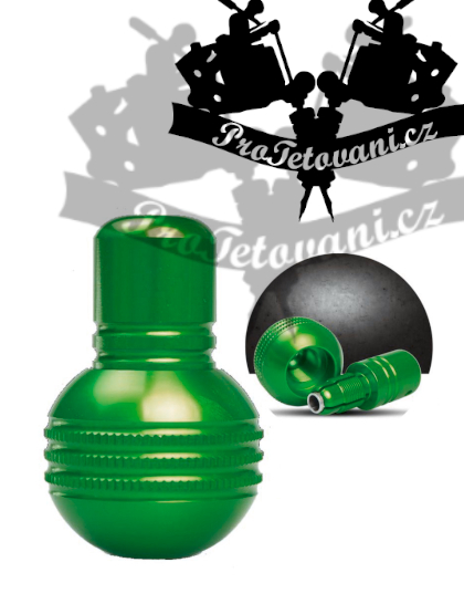 Tetovací grip Self lock bomb Green 35mm