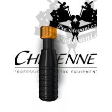 Original CHEYENNE BLACK tattoo grip 22 mm